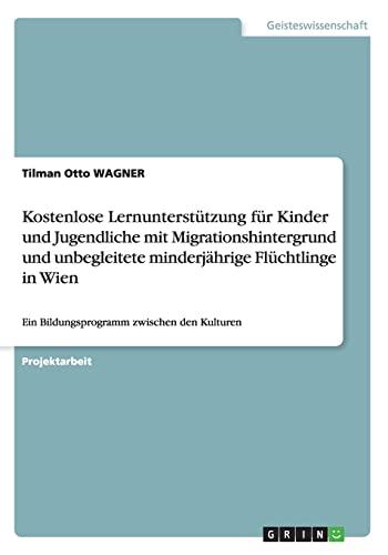9783656853886: Kostenlose Lernunterstützung für Kinder und Jugendliche mit Migrationshintergrund und unbegleitete minderjährige Flüchtlinge in Wien