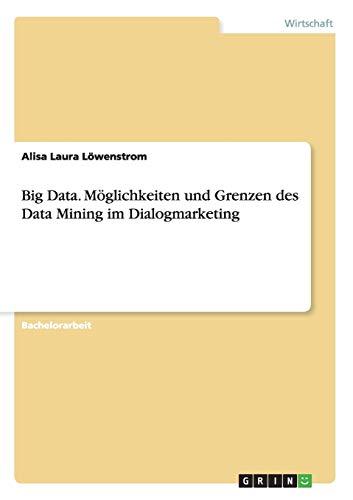 Big Data. Möglichkeiten und Grenzen des Data Mining im Dialogmarketing: Alisa Laura Löwenstrom