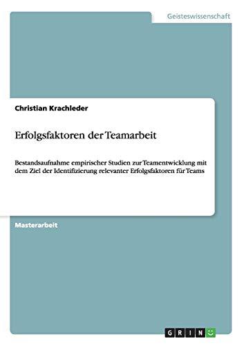 Erfolgsfaktoren der Teamarbeit: Christian Krachleder