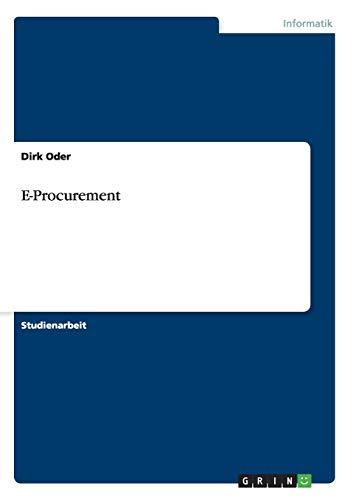 9783656905004: E-Procurement