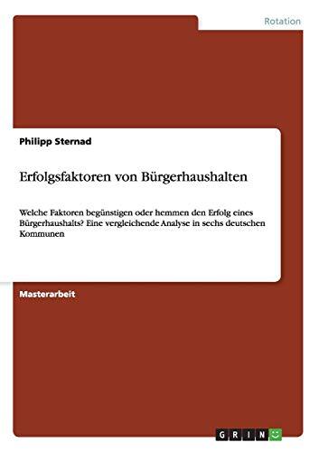 Erfolgsfaktoren von Bürgerhaushalten: Philipp Sternad