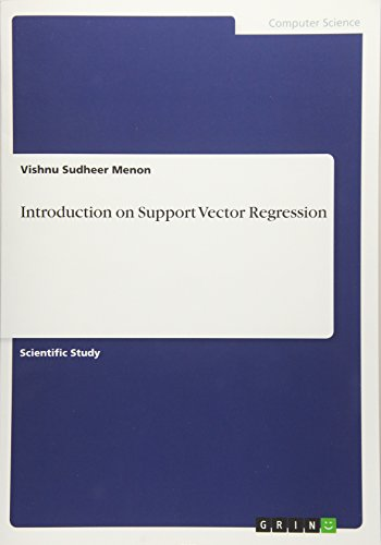 9783656930174: Introduction on Support Vector Regression