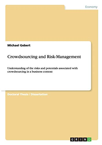 9783656930211: Crowdsourcing and Risk-Management