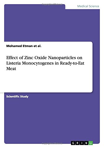 Effect of Zinc Oxide Nanoparticles on Listeria: Mohamed Etman Et
