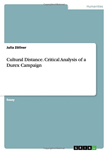 9783656975755: Cultural Distance. Critical Analysis of a Durex Campaign