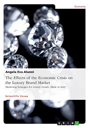 9783656976936: The Effects of the Economic Crisis on the Luxury Brand Market