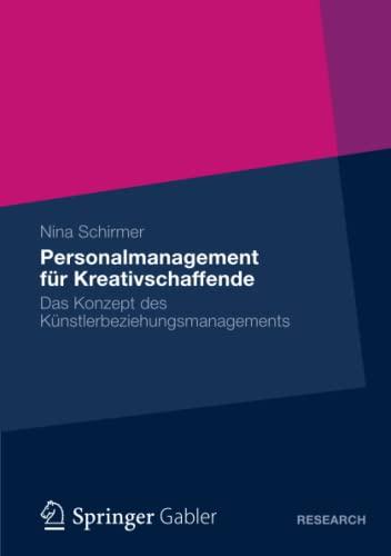 Personalmanagement für Kreativschaffende: Nina Schirmer