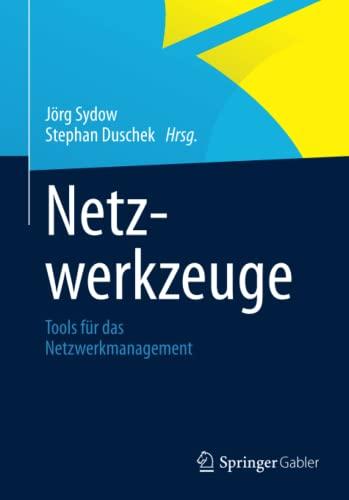 9783658002572: Netzwerkzeuge: Tools für das Netzwerkmanagement (German Edition)