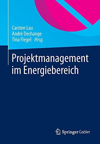 9783658002664: Projektmanagement im Energiebereich (German Edition)