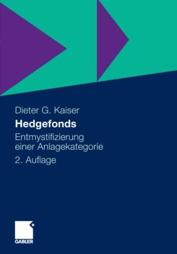 9783658005740: Hedgefonds: Entmystifizierung einer Anlagekategorie (German Edition)