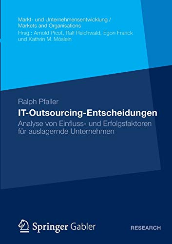IT-Outsourcing-Entscheidungen: Ralph Pfaller