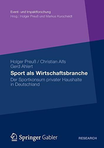 Sport als Wirtschaftsbranche: Holger Preuß