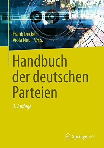 9783658009625: Handbuch Der Deutschen Parteien