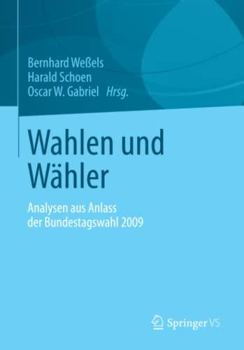 Wahlen und Wähler: Bernhard Weßels
