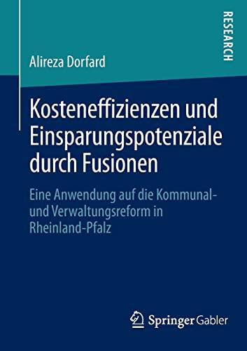 Kosteneffizienzen und Einsparungspotenziale durch Fusionen: Alireza Dorfard