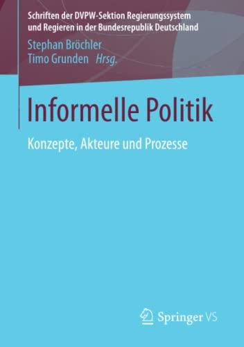 Informelle Politik: Stephan Bröchler