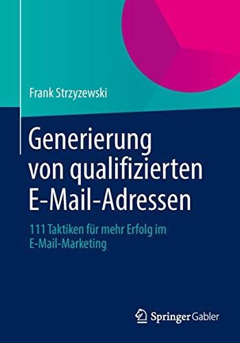 Generierung von qualifizierten E-Mail-Adressen: Frank Strzyzewski
