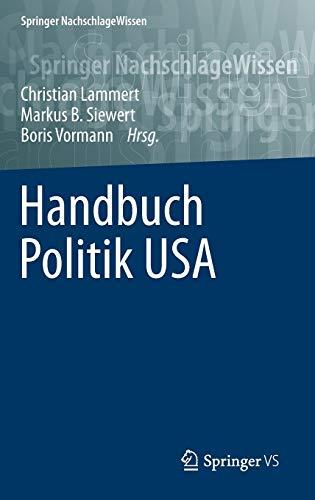 Handbuch Politik USA: Christian Lammert