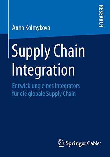 Supply Chain Integration: Anna Kolmykova