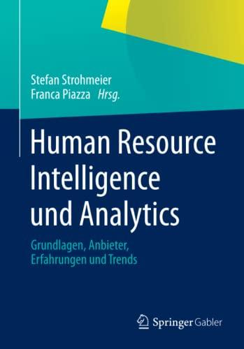 Human Resource Intelligence und Analytics: Stefan Strohmeier
