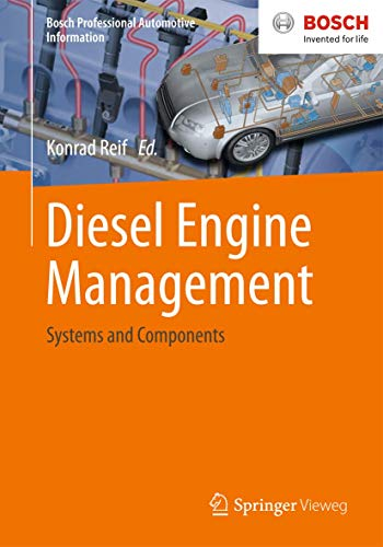 9783658039806: Diesel Engine Management: Systems and Components (Bosch Professional Automotive Information)