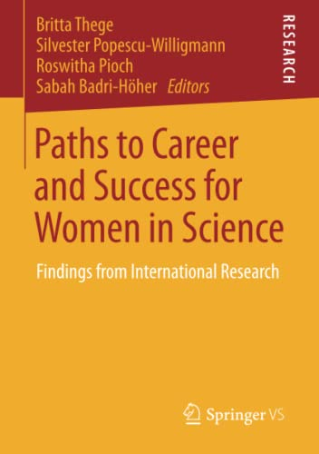 9783658040604: Paths to Career and Success for Women in Science: Findings from International Research