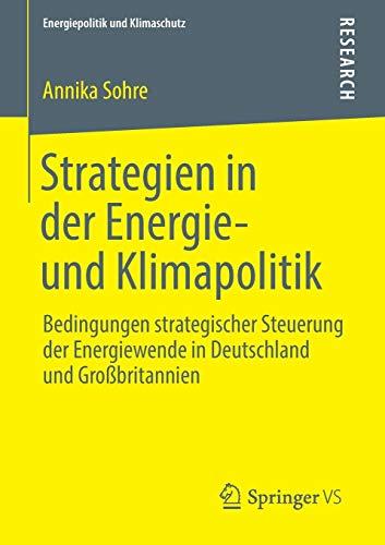 Strategien in der Energie- und Klimapolitik: Annika Sohre