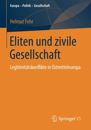 Eliten und zivile Gesellschaft: Helmut Fehr