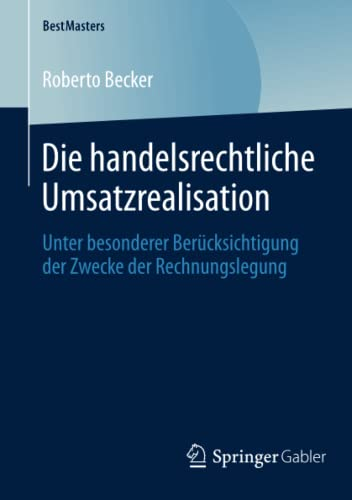 Die handelsrechtliche Umsatzrealisation: Roberto Becker