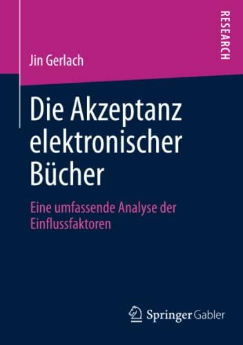 Die Akzeptanz elektronischer Bücher: Jin Gerlach