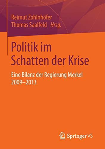 Politik im Schatten der Krise: Reimut Zohlnh�fer