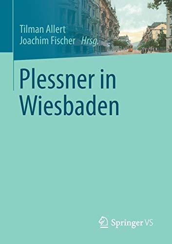 9783658054519: Plessner in Wiesbaden (German Edition)