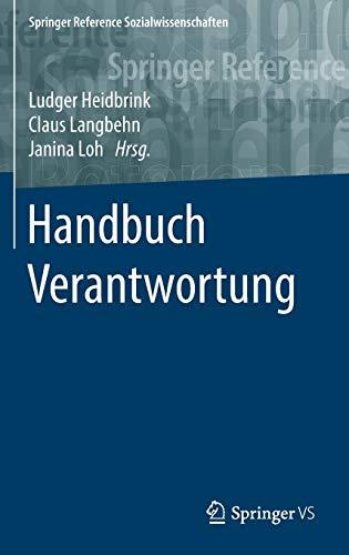 9783658061098: Handbuch Verantwortung (Springer Reference Sozialwissenschaften) (German Edition)