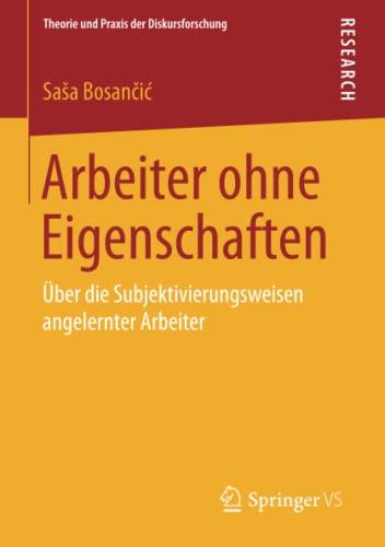 Arbeiter ohne Eigenschaften: SaSa Bosancic