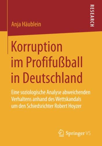 Korruption im Profifußball in Deutschland: Anja Häublein
