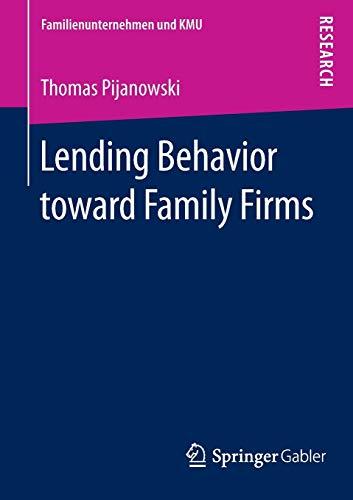 Lending Behavior toward Family Firms