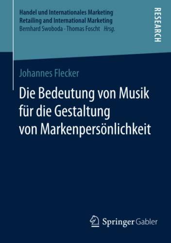Die Bedeutung von Musik für die Gestaltung von Markenpersönlichkeit: Johannes Flecker