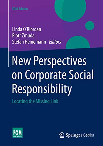 9783658067939: New Perspectives on Corporate Social Responsibility: Locating the Missing Link (FOM-Edition)