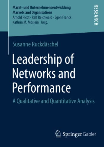 Leadership of Networks and Performance: Susanne Ruckdäschel