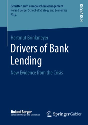 Drivers of Bank Lending: Hartmut Brinkmeyer