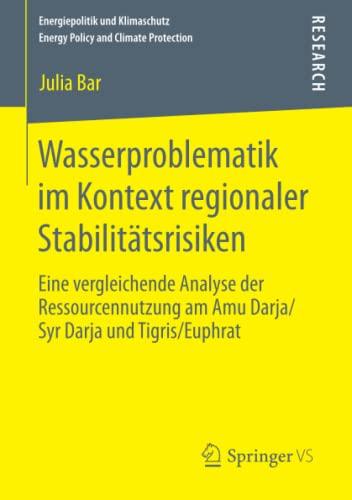 Wasserproblematik im Kontext regionaler Stabilitätsrisiken: Julia Bar