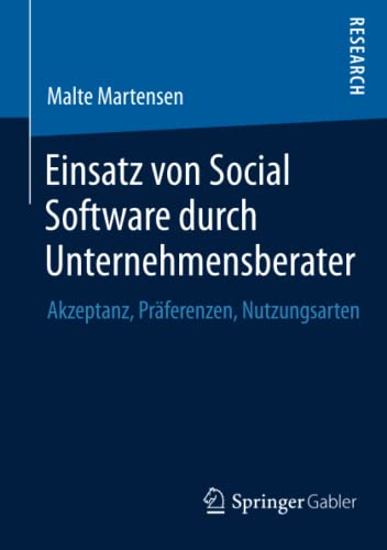 Einsatz von Social Software durch Unternehmensberater: Malte Martensen
