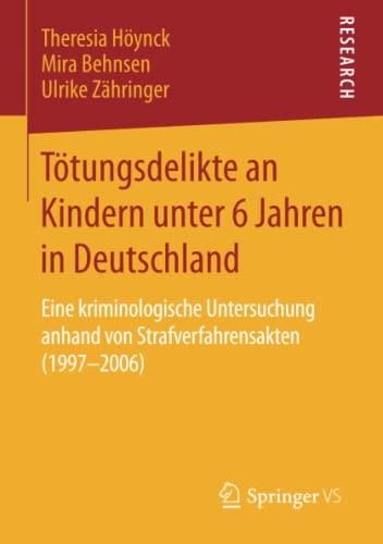 Tötungsdelikte an Kindern unter 6 Jahren in Deutschland: Mira Behnsen
