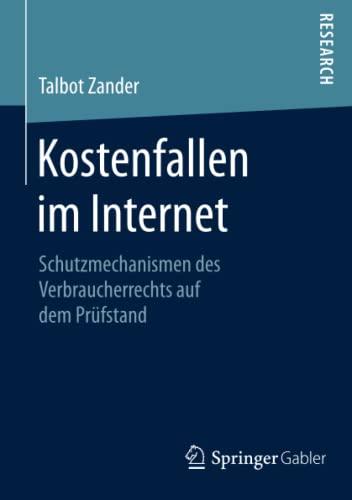 Kostenfallen im Internet: Talbot Zander
