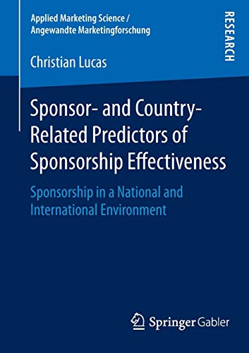 Sponsor- and Country-Related Predictors of Sponsorship Effectiveness: Christian Lucas