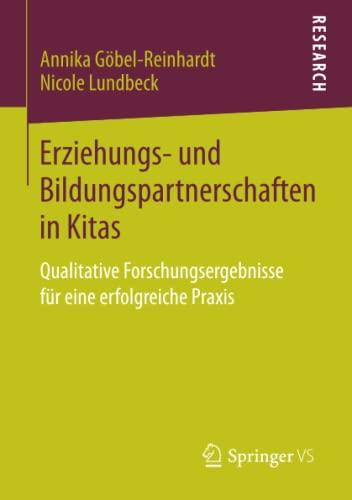 Erziehungs- und Bildungspartnerschaften in Kitas: Annika G�bel-Reinhardt