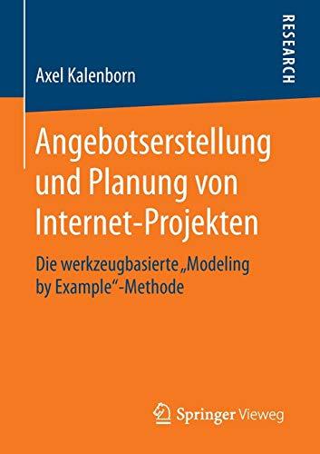 Angebotserstellung und Planung von Internet-Projekten: Axel Kalenborn