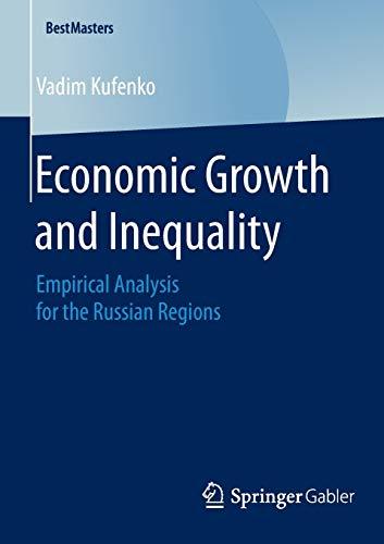 Economic Growth and Inequality: Vadim Kufenko