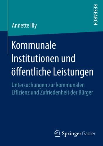 Kommunale Institutionen und öffentliche Leistungen: Annette Illy