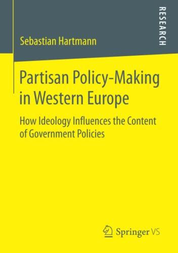 Partisan Policy-Making in Western Europe: Sebastian Hartmann